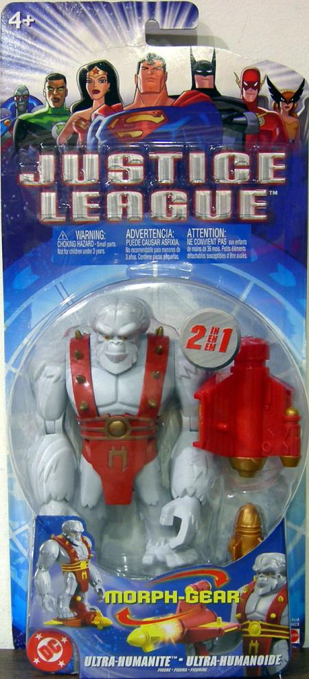 Ultra-Humanite Morph-Gear Justice League action figure