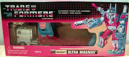 Ultra Magnus Commemorative Series I Transformers action figure