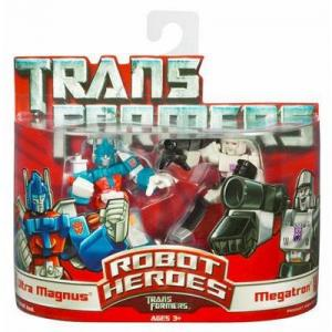 Ultra Magnus Megatron Transformers Robot Heroes action figures