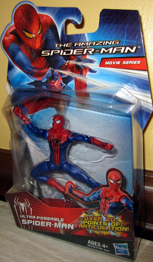 Ultra-Poseable Spider-Man Amazing Movie Series action figure