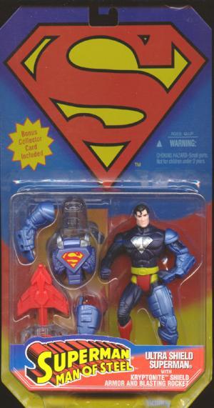 Ultra Shield Superman Figure Man Steel Kenner