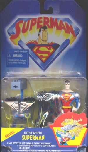 Ultra Shield Superman Deluxe Animated action figure