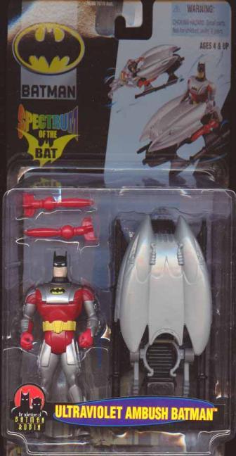 Ultraviolet Ambush Batman Spectrum Bat action figure
