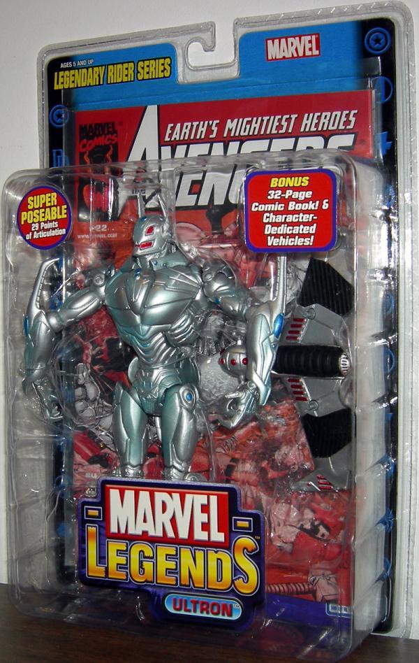 Ultron Marvel Legends Legendary Rider Series action figure