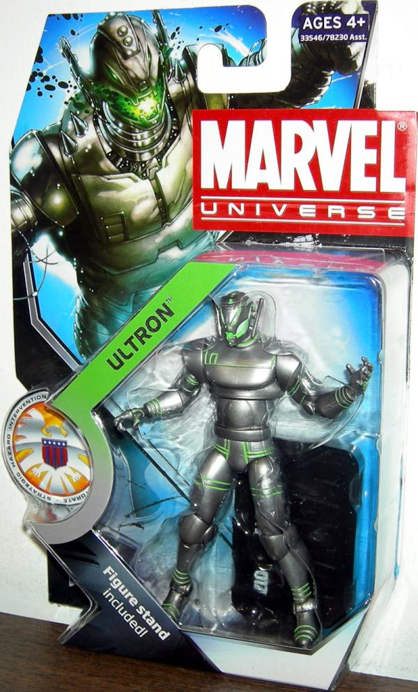 Ultron Figure Marvel Universe Series 3 017 Hasbro