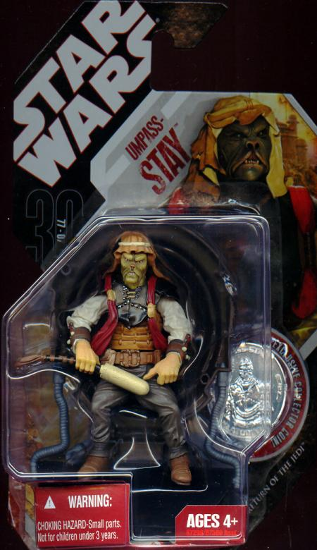 Umpass-stay 30th Anniversary No 27 Star Wars action figure