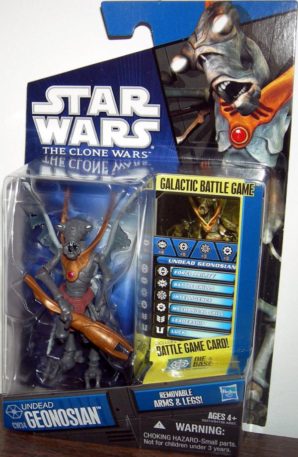Undead Geonosian CW34 Star Wars Clone action figure