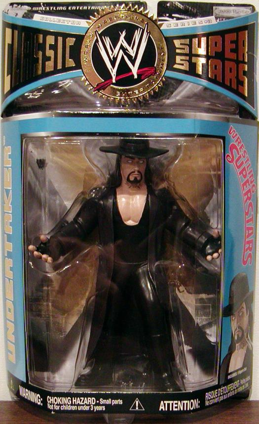 Undertaker Series 13 WWE Classic Super Stars action figure