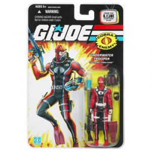 GI Joe Cartoon Series Underwater Trooper Code Name Cobra Diver action figure