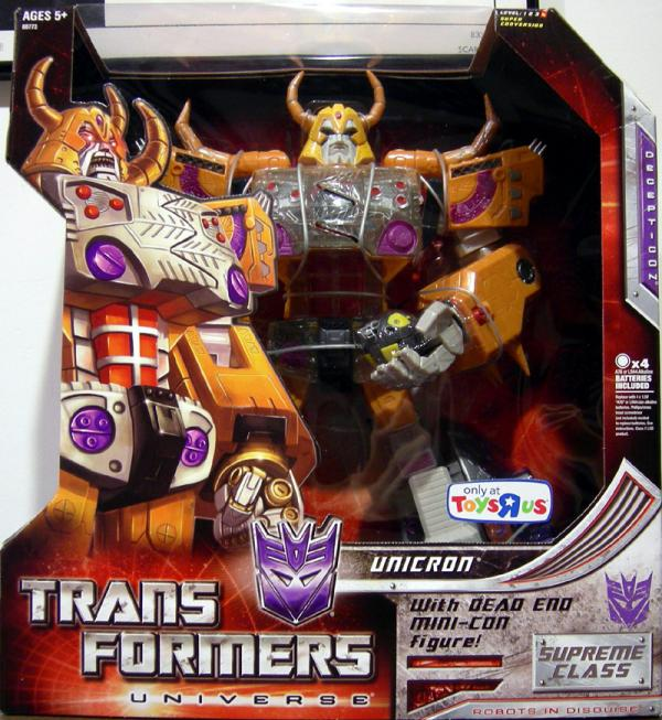 Unicron Dead End Mini-Con Transformers Universe Supreme Class figures