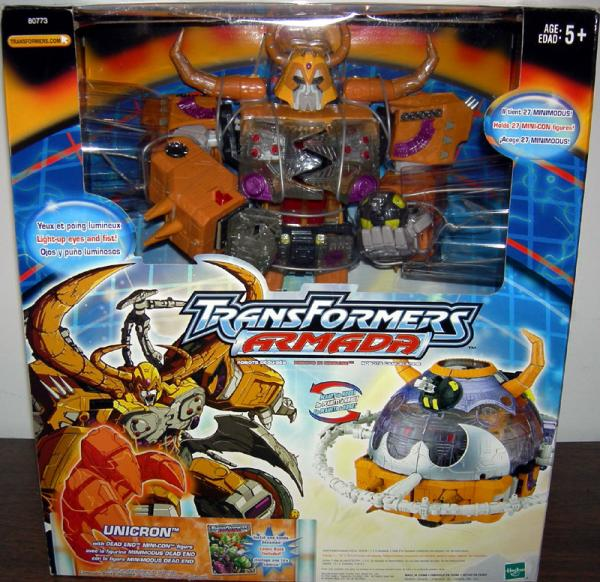 Unicron Dead End Mini-Con Transformers Armada action figures