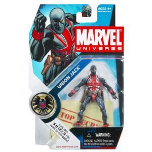 Union Jack Figure Marvel Universe 026 Hasbro