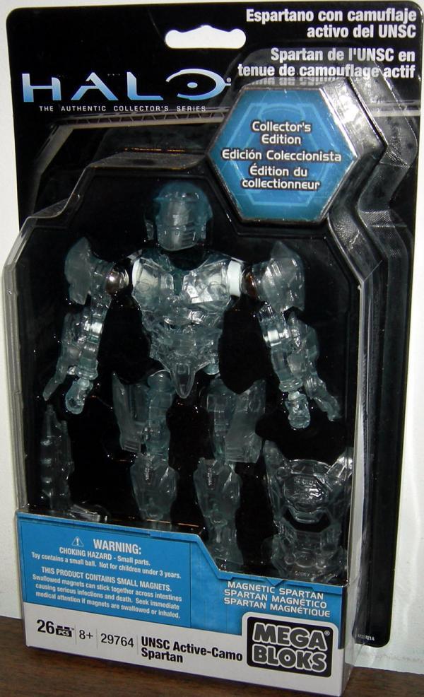 UNSC Active-Camo Spartan Mega Bloks action figure