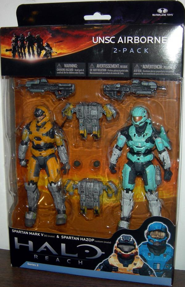UNSC Airborne 2-Pack Figures Halo Reach McFarlane Toys