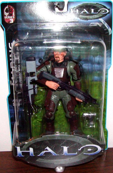 UNSC Marine 2 Halo Series 3 action figure