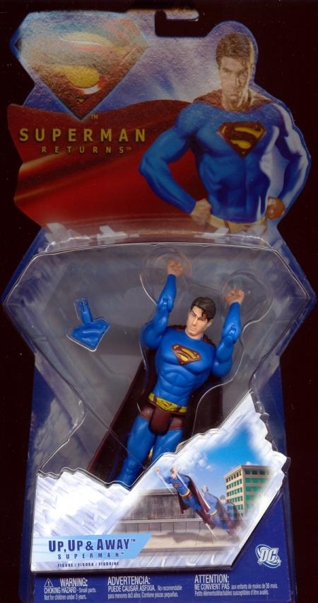 Up Up Away Superman Returns action figure