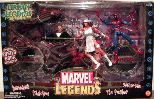 Urban Legends Action Figures Marvel Toy Biz