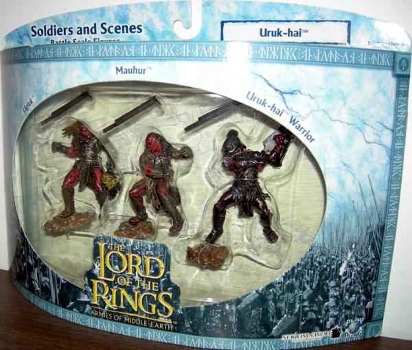 Uruk-hai Battle Scale Lord Rings Armies Middle-Earth action figures