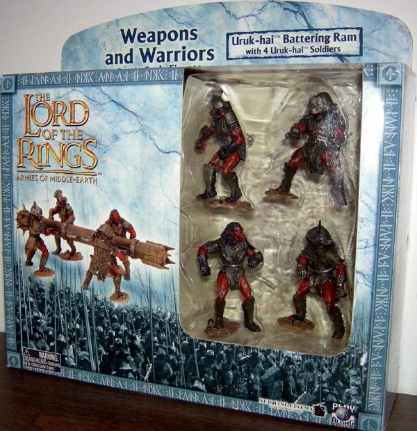 Uruk-hai Battering Ram Battle Scale Lord Rings Armies figures
