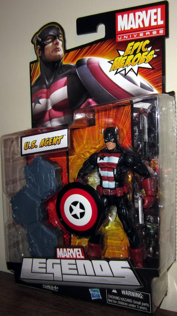 US Agent Marvel Legends Epic Heroes action figure