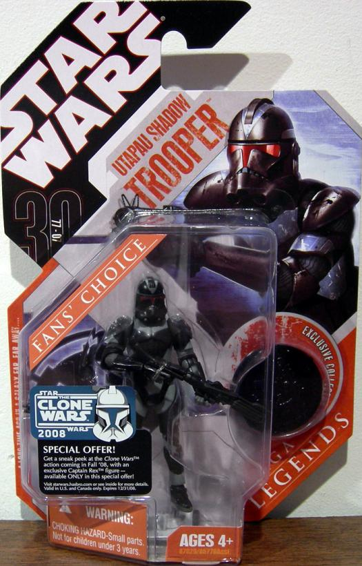 Utapau Shadow Trooper 30th Anniversary Star Wars Saga Legends figure