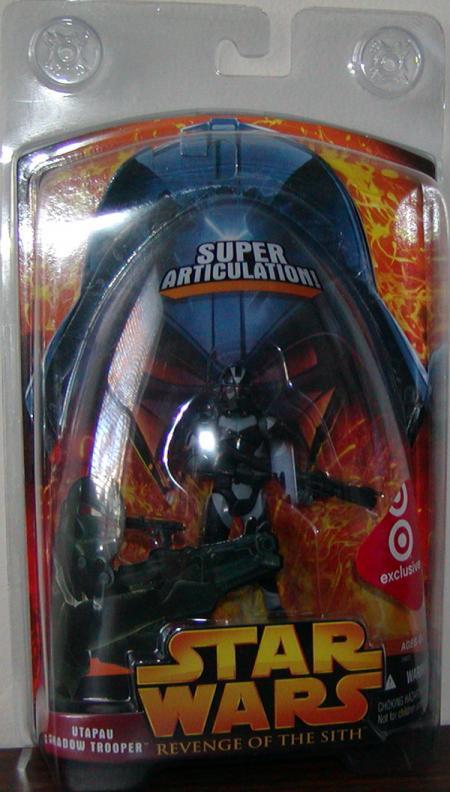 Utapau Shadow Trooper Star Wars Revenge Sith Target Exclusive figure