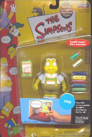 Uter Simpsons Intelli-Tronic Voice Activation action figure
