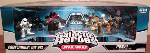 Vaders Bounty Hunters Galactic Heroes Star Wars action figures
