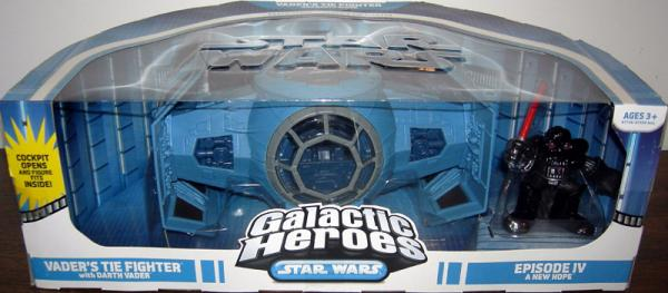 Vaders TIE Fighter Galactic Heroes Star Wars action figure vehicle