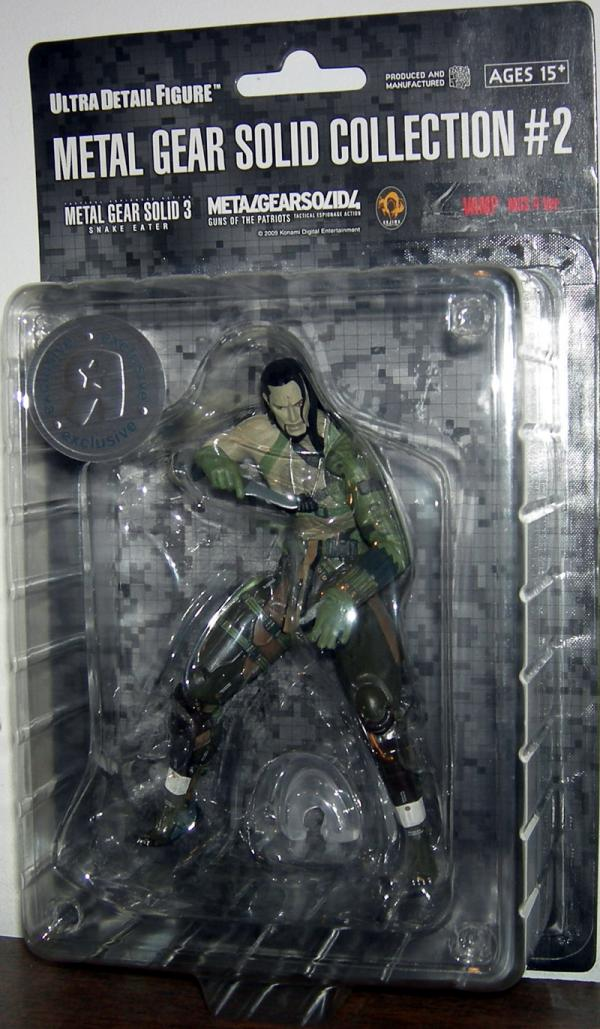 Vamp Metal Gear Solid Collection 2 4 Ver action figure