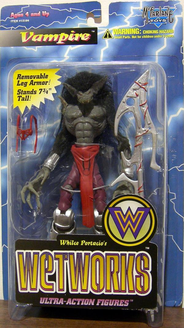 Vampire Wetworks Spawn action figure