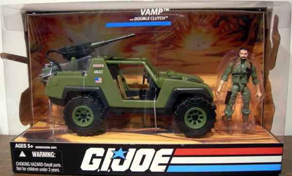 Vamp Double Clutch GI Joe action figure vehicle
