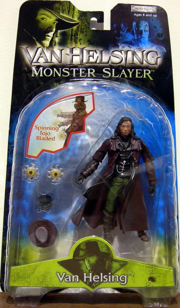 Van Helsing Figure Spinning Tojo Blades Monster Slayer
