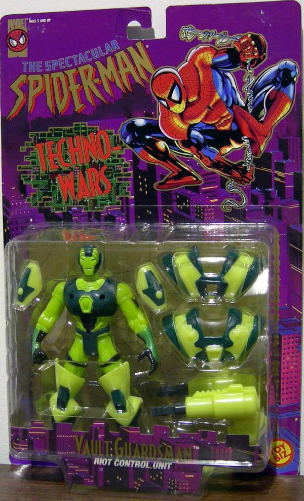 Vault Guardsman Spectacular Spider-Man Techno-Wars action figure