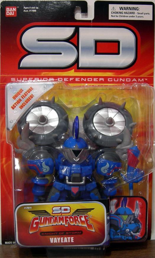 Vayeate SD  Figure Superior Defender Gundam GundamForce Knight Storm