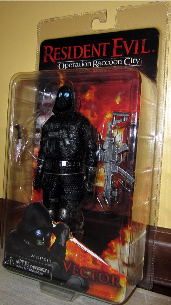 Vector Resident Evil Operation Raccoon City action figure