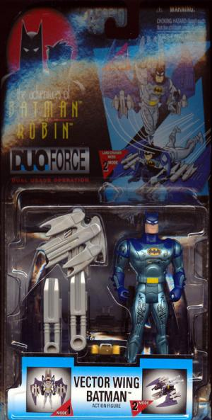 Vector Wing Batman Adventures Robin DuoForce action figure