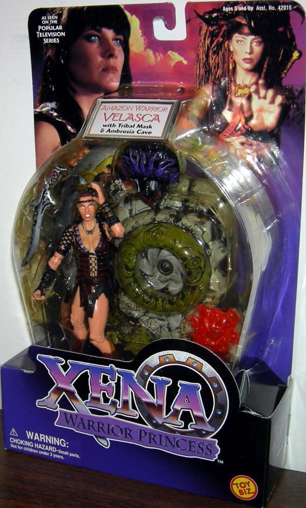Amazon Warrior Velasca Xena Princess action figure