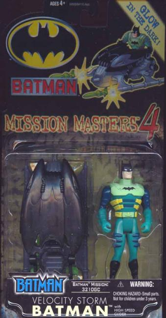 Velocity Storm Batman Mission Masters 4 action figure