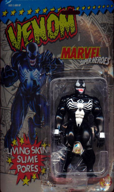 Venom Living Skin Slime Pores Marvel Super Heroes action figure