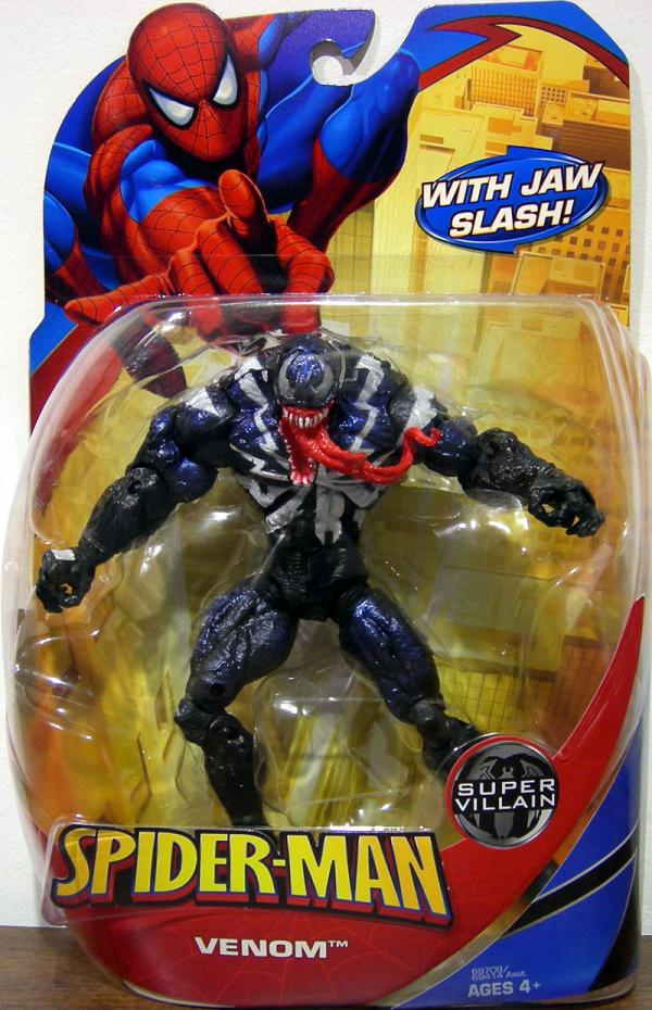 Venom Jaw Slash Spider-Man Super Villain action figure