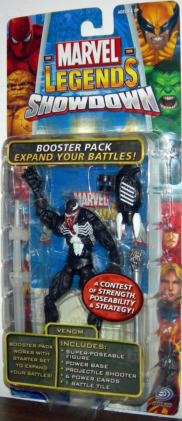 Venom Marvel Legends Showdown Booster Pack Action Figure