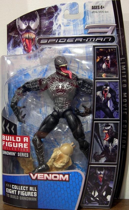 Venom Build Sandman Series Spider-Man 3 action figure