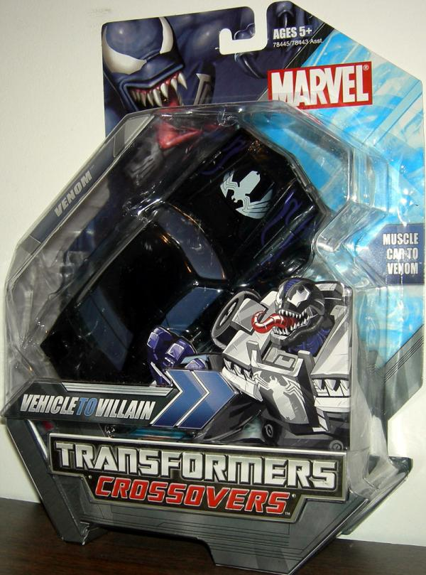 Venom Transformers Crossovers Action Figure Hasbro
