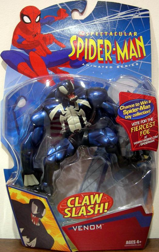 Venom Spectacular Spider-Man Animated Series action figure