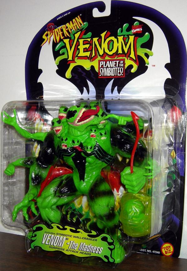 Venom Madness Repaint Spider-Man Planet Symbiotes action figure