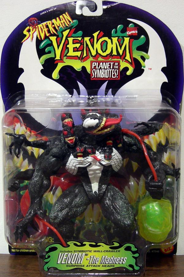 Venom Madness Spider-Man Planet Symbiotes action figure
