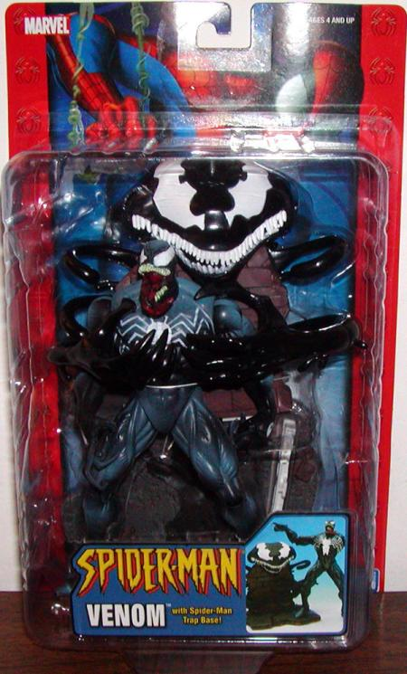Venom Spider-Man Trap Base Classic action figure