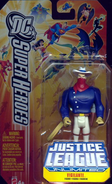 Vigilante Figure DC SuperHeroes Justice League Unlimited