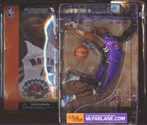 Vince Carter Purple Jersey McFarlane SportsPicks action figure